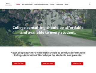 nowcollege.com screenshot