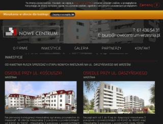 nowecentrum-wrzesnia.pl screenshot