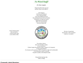 noweirdstuff.org screenshot