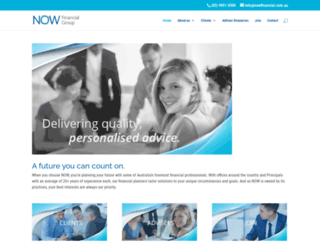 nowfinancial.com.au screenshot