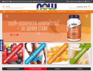 nowfoods.bg screenshot