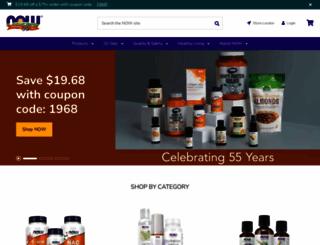 nowfoods.com screenshot