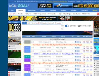 nowgoal.id screenshot