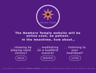 nowheretemple.com screenshot