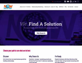 nowmarketinggroup.com screenshot