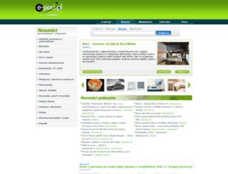 nowosci.e-sieci.pl screenshot
