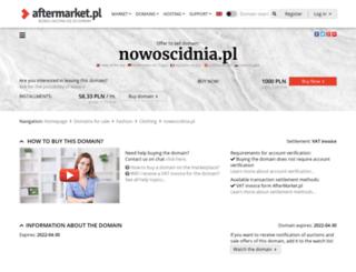 nowoscidnia.pl screenshot