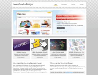 nowottnick-design.de screenshot