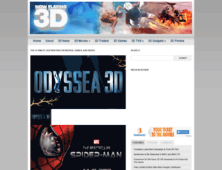nowplaying3d.com screenshot