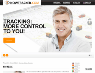 nowtracker.com screenshot