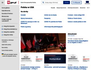 nowyjork.msz.gov.pl screenshot