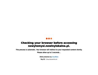 nowytomysl.nowinylokalne.pl screenshot