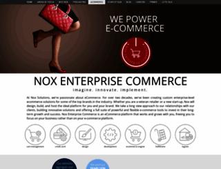 noxenterprisecommerce.com screenshot