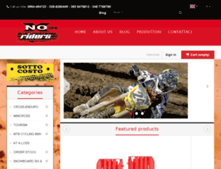 noxriders.com screenshot