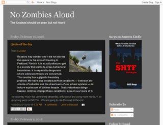 nozombiesaloud.blogspot.com screenshot