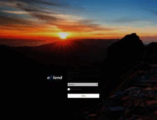 np.extendbroadband.com screenshot