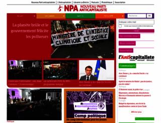 npa2009.org screenshot