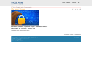 npalstudent.np.edu.sg screenshot