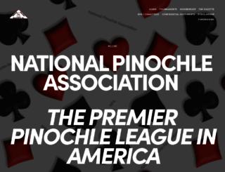 npapinochle.org screenshot