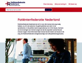 npcf.nl screenshot