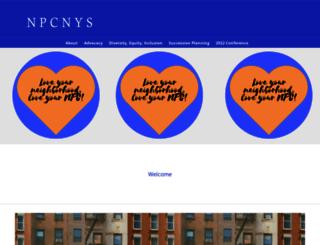 npcnys.org screenshot