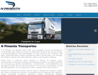 npimenta.com.br screenshot