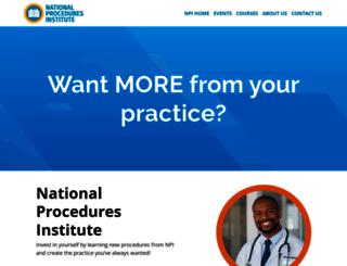 npinstitute.com screenshot