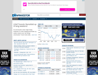 npinvestor.dk screenshot