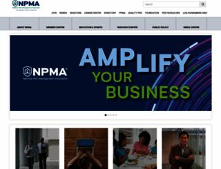 npmapestworld.org screenshot