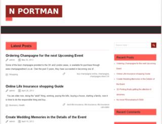 nportman-online.com screenshot