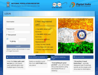 npr-rgi.nic.in screenshot