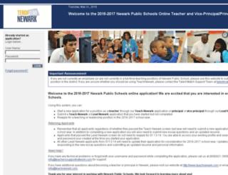 nps.teacherssupportnetwork.com screenshot