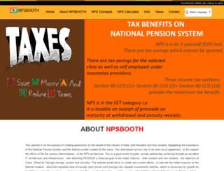 npsbooth.com screenshot