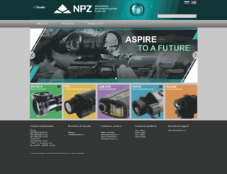 npzoptics.com screenshot