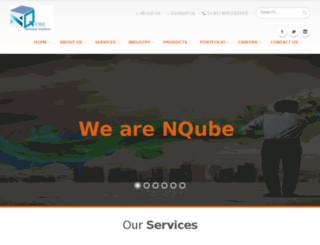 nqubetechnologies.com screenshot