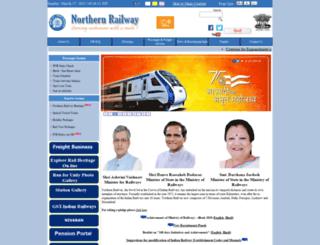 nr.indianrailways.gov.in screenshot