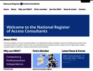 nrac.org.uk screenshot