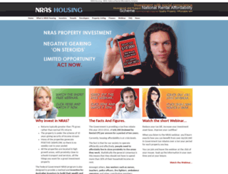 nrashousing.com.au screenshot