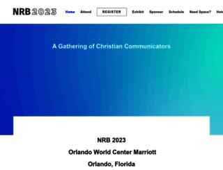 nrbconvention.org screenshot