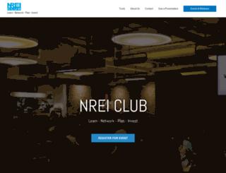 nreiclub.com screenshot