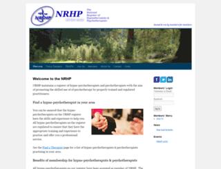 nrhp.co.uk screenshot