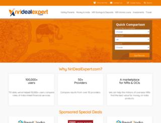 nridealexpert.com screenshot