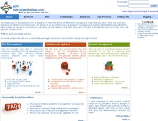 nriservicesonline.com screenshot