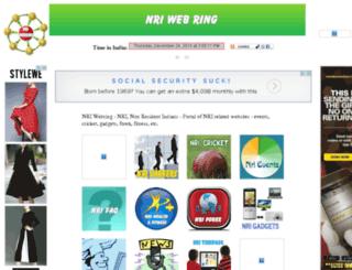 nriwebring.com screenshot
