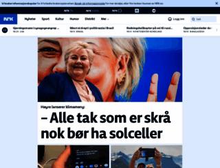 nrk.no screenshot