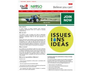 nroso.org.uk screenshot