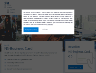 ns-businesscard.nl screenshot