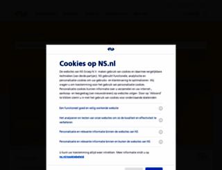 ns.nl screenshot