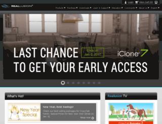 ns.reallusion.com screenshot