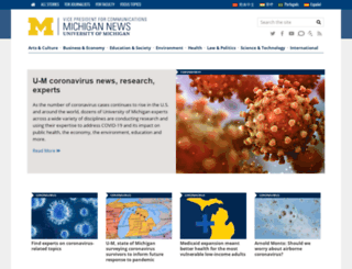 ns.umich.edu screenshot